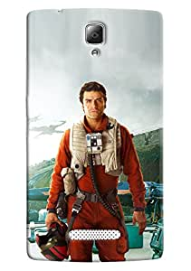 Omnam Man In Aviation Dress Printed Back Cover Case For Lenovo A2010