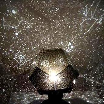 diy romantic galaxy starry sky projector night light 2xaa usb. Black Bedroom Furniture Sets. Home Design Ideas