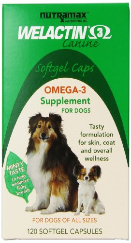 Welactin Canine Softgel Capsule, 120 Count, 3-Pack