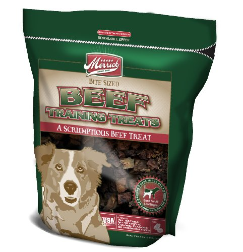 Merrick 5-Ounce Beef Canine Training Treats, 1 Bag
