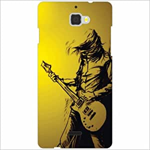 Coolpad Dazen 1 Back Cover - Guitar Designer Cases