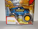 AfterShock After Shock Hot Wheels 2013 Monster Jam Includes Crushable Car Max-D Decade of Maximum Destruction with Mud Tire Threads (X8995) 1:64
