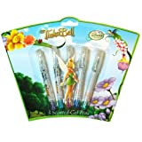 Tinkerbell Fairies 5pk Mini Gel Pens on Shaped 3D Blister Card