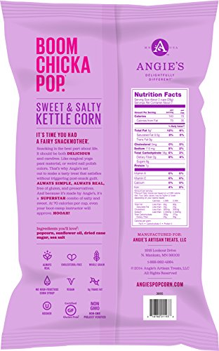 Angie S Boom Chicka Pop Sweet Amp Salty Kettle Corn 23 Oz