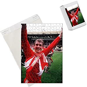 Photo Jigsaw Puzzle Of Kenny Dalglish Liverpool 19851986 From Fotosports from Media Storehouse
