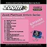 Zoom Karaoke CD+G - Platinum Artists 23: Blondie & Deborah Harry