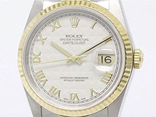 [ロレックス]ROLEX【外装仕上げ済み】【ROLEX】ロレックス デイトジャスト 16233 L番 K18 ゴールド ステンレススチール 自動巻き メンズ 時計16233(BF087942)[中古]