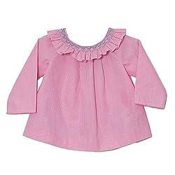 Jacadi Paris Blouse (Pink White)