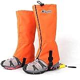 Anself Guêtres Jambières imperméable pour ski randonnée pédestre Escalade /coupe-vent Gaiters /Protection des jambes