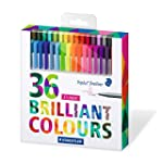 Staedtler Color Pen Set, Set of 36 As...