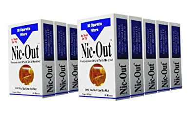 Nic-Out Filters For Cigarette Smokers 10 Packs (300 Filters)
