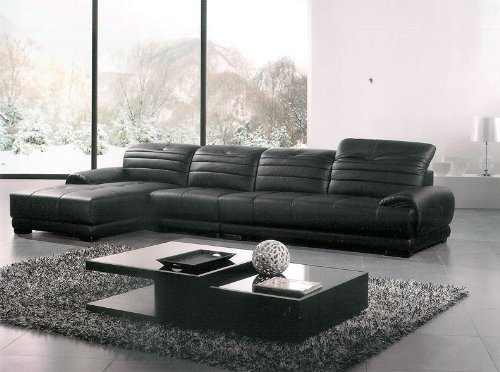 Contemporary Italian Design Franco Sofa with Adjustable Headrest Brown and Cream