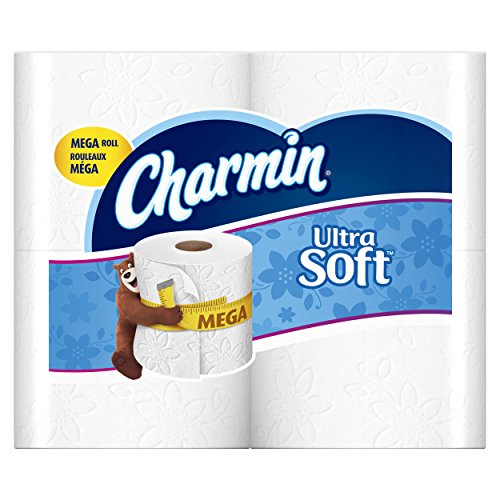 Charmin Ultra Soft Toilet Paper, Mega Roll, 24 Count