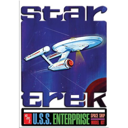 AMT Star Trek USS Enterprise NCC-1701 1/650 Scale Special Tin