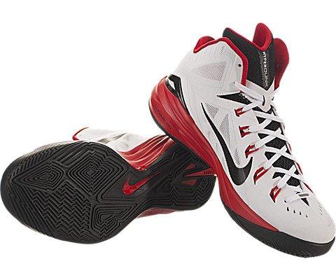 Nike basketball shoes hyperdunk black and white