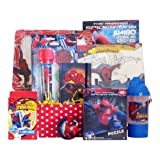 Gift Baskets Full of Activity Ideal for Birthday Gift, Get Well Baskets for Boys Presented By Spiderman Hero