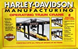 Harley Davidson Motorcycles Deluxe Manufactoring Crane Train Set in HO Scale