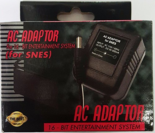New AC Adapter for SNES Super Niinteenndo Power Cable Cord by Innovations 1pcs (Super Nintendo Power Adapter compare prices)