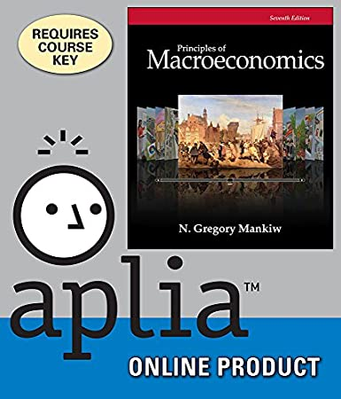 Aplia for Mankiw's Principles of Macroeconomics, 7th Edition