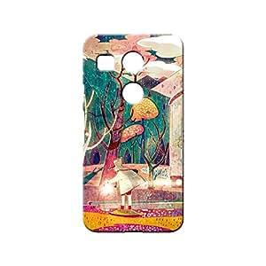 BLUEDIO Designer 3D Printed Back case cover for LG Nexus 5X - G5873