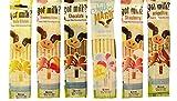 Magic Milk Flavoring Straws 36 Assorted Flavor Straws Cookies n Cream Strawberry Banana Chocolate Strawberry Neapolitan Cotton Candy