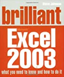 Brilliant Excel 2003 (0132001322) by Johnson, Steve