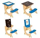 Little Helper 4in1 Wooden ArtStation Infant Desk Blackboard Picture