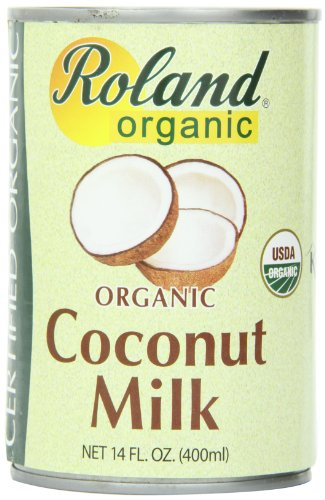 Roland Coconut Milk, Organic, 14 Ounce (Pack of 24)