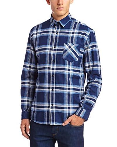Selected Homme Camisa Hombre Dallas Azul Claro