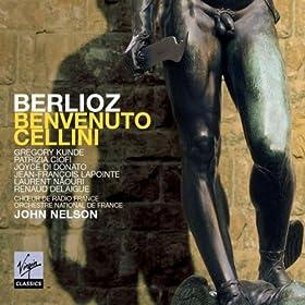 Benvenuto Cellini, Act 2 - Troisieme Tableau, Scene 3: Duo - Quand des sommets (Teresa/Cellini)