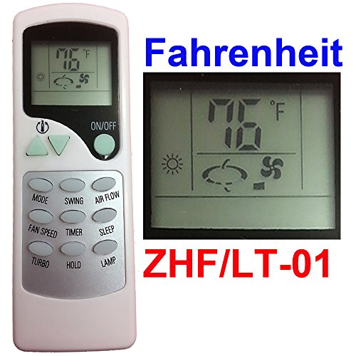 Replacement for Thermal Zone Air Conditioner Remote Control Model(Part) Number ZHF/LT-01