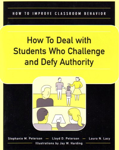 How to Deal With Students Who Challenge and Defy Authority (How to Improve Classroom Behavior Series)