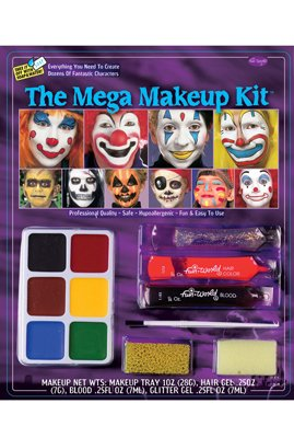 Fun World Halloween Mega Make Up Kit