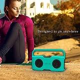 Aomais-Sport-Bluetooth-Lautsprecher-Sling-Cover-Soft-Cover-CaseSchutzbox-Abdeckung-Lautsprecher-Schutzhlle-Grn