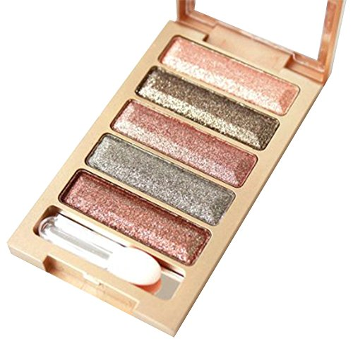 Contever® 5 Colori Nudes Palette Ombretti Cosmetic Makeup # 6