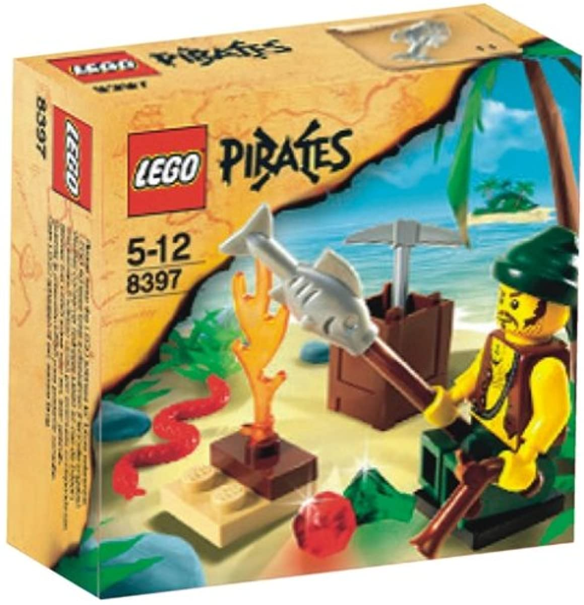 [해외] 레고 (LEGO) 파이럿 해적의 서바이벌 8397-8397 (2009-09-05)