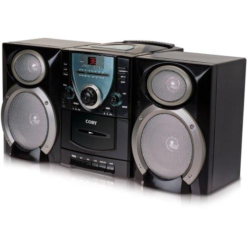 Coby CXCD400BLK Micro Shelf System (Black)