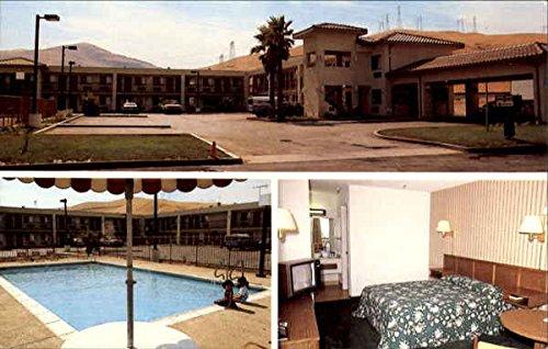 Super 8 Motel, P. O. Box 888 Westley, Ca Original Vintage Postcard