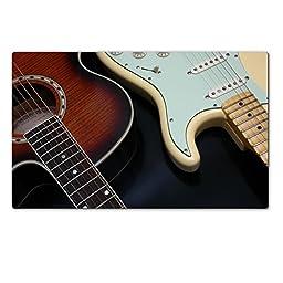 Liili Premium Large Table Mat 28.4 x 17.7 x 0.2 inches comparison of guitar Photo 317883