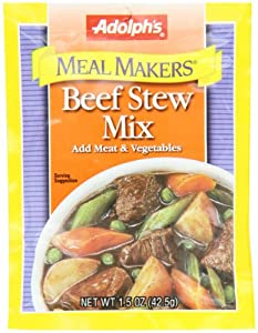 Adolph Seasoning Mix Beef Stew, 1.5-Ounce (Pack of 8)