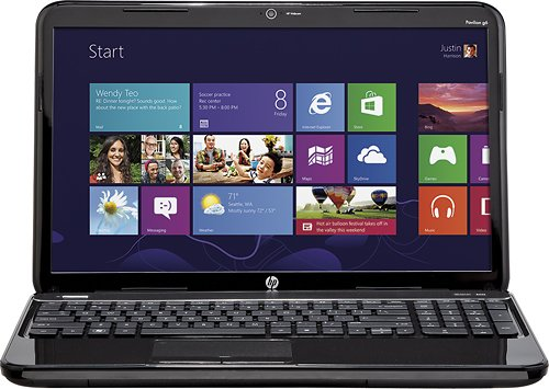 Laptop Hp Pavilion 15.6 AMD A6-4400m Accelerated Processor with AMD Radeon Hd 7
