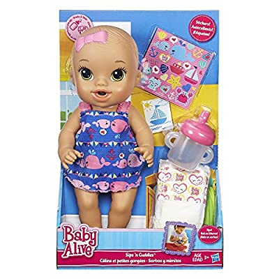 Baby Alive Sips 'n Cuddles Nautical Doll from Hasbro