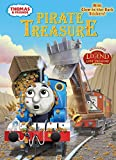 img - for Pirate Treasure (Thomas & Friends) (Glow-in-the-Dark Sticker Book) book / textbook / text book