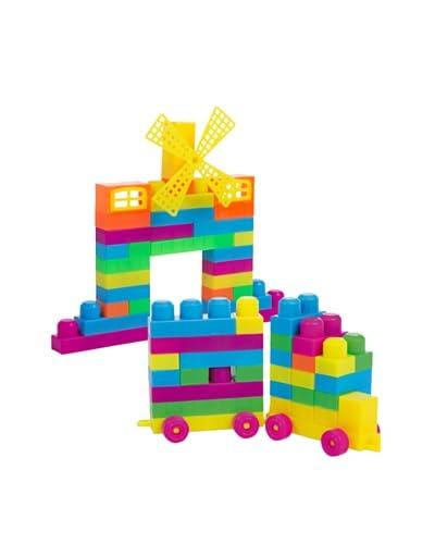 Color Baby Bote De Construcción 107 Piezas