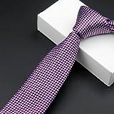 WSS Novio de fibra de poliester de lazo profesional boda y festivo banda casual corbata tie hombres . 5