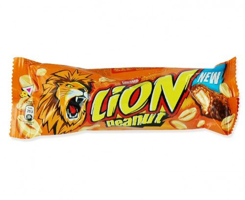 Nestle Peanut Lion Bar - 1 x 10 singole