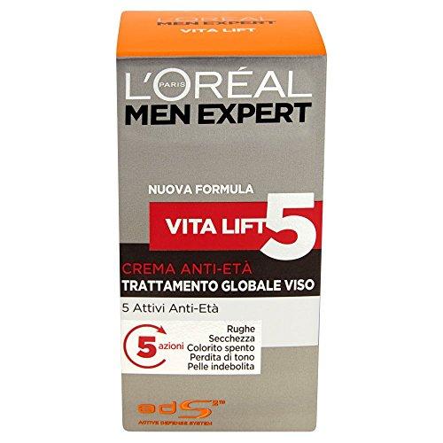 L'Oréal Paris Men Expert Vita Lift5 - Crema anti-età trattamento globale viso - 50 ml