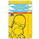 Moleskine The Simpsons Limited Edition Notebook, Large, Ruled, Yellow, Hard Cover (5 x 8.25) (Moleskine Limited Edition)