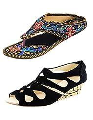 Thari Choice Woman Sandal Combo Pack