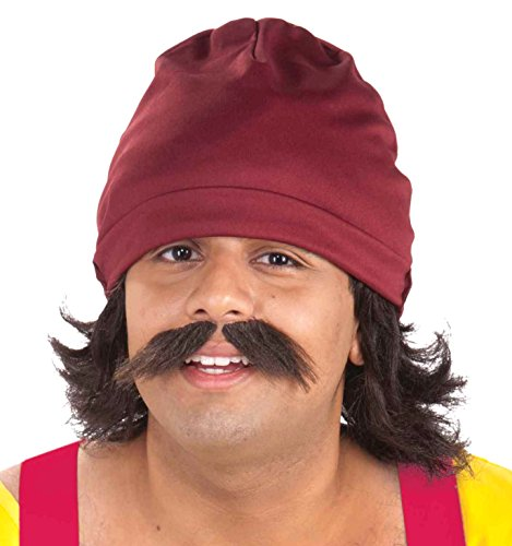 Forum Novelties Men's Cheech Kit with Cap Wig and Moustache